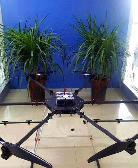 Bảo vệ thực vật nông nghiệp máy bay chở 10 kg thuốc xổ sự phun thuốc trừ sâu máy bay điều khiển từ x