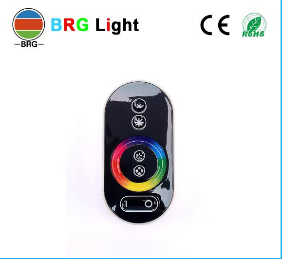 Bộ điều khiển đèn LED chạm RGB đưa Colorful RF radio RF chạm vào cái điều khiển từ xa chạm vào thiết