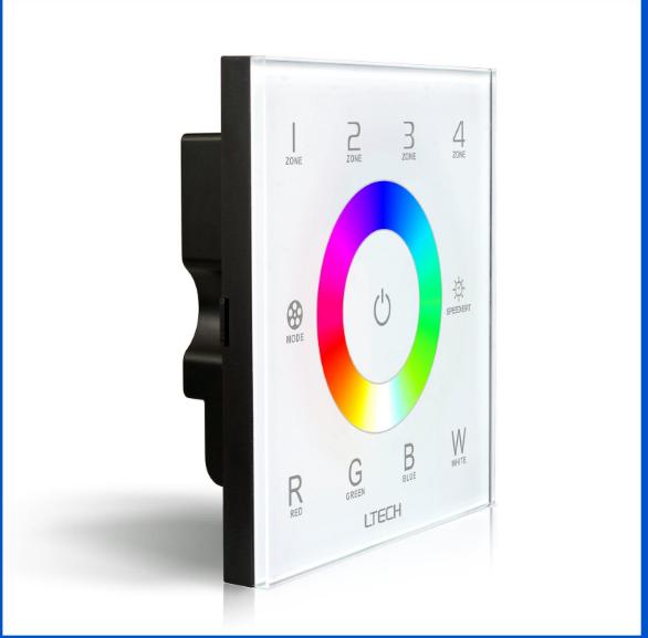 Retz DX8 DMX Colorful đèn có đèn đường 2.4G RF chạm bảng thiết bị chuyển đổi màu