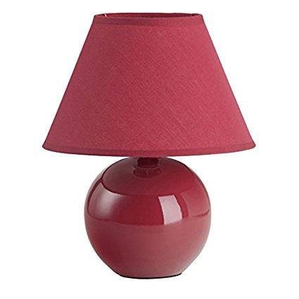 Brilliant Đèn Bàn Primo Brilliant, 1 x E 14 * 40 W, Màu Đỏ 61047/01