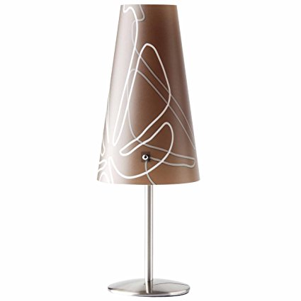 Brilliant Bóng đèn Brilliant ISI, 1 x E 14 * 40 W, Kim loại / Nhựa, Nâu Đậm 02747/23