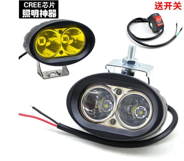 Xe lắp ráp chip CREE LED ánh đèn ống kính hạt súng laser phản quang ly - ánh sáng trắng (chuyển đổi)