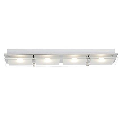 Brilliant Đèn LED / Đèn trần Brilliant World, 4 bóng đèn, 4 X 5 W Tích hợp cố định LED, 4 X 400 Lume