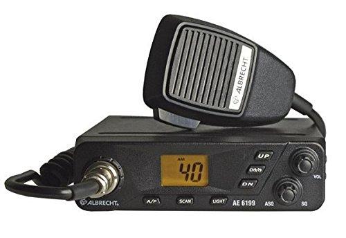 Albrecht nhỏ nhiều màu khác nhau ae-6199 kênh khu vực tiếp nhận túi CB radio.