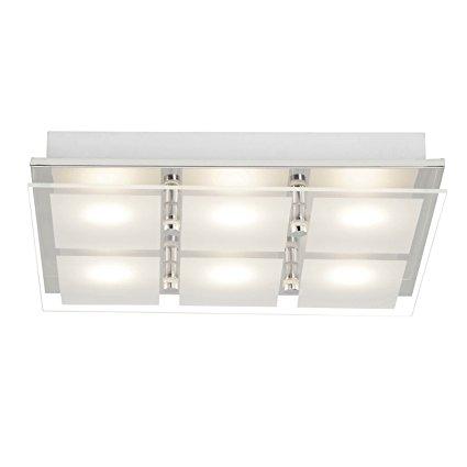 Brilliant Đèn LED / Đèn trần, 6 Chiếu sáng, 6 x 5 W Tích hợp cố định LED, 6 x 400 Lumens, 3000 K