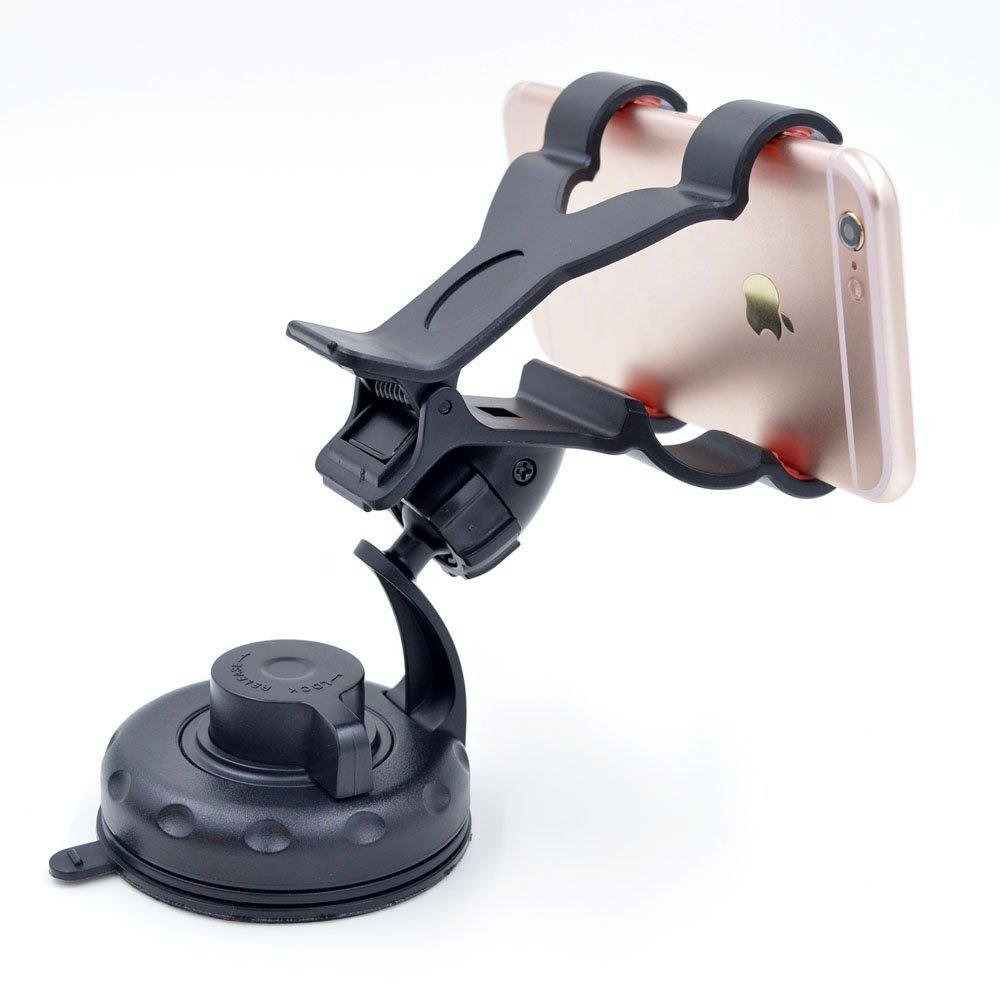 Người phụ nữ quay 360 ° Miệng hút loại xe / sống khung xe sử dụng điện thoại di động kép thành khung