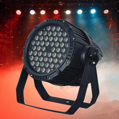 Đèn sân khấu Bóng đèn chiếu tròn LED 36W 54W ánh sáng mờ đèn chiếu ngoài trời chống thấm rgbw giai đ