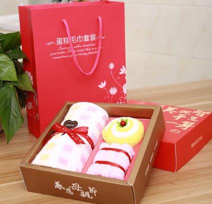 wuyouwuyu Vật có Monogatari khăn khăn tặng quà mẹ sáng tạo công ty bánh kèm quà tặng cho các nhân vi