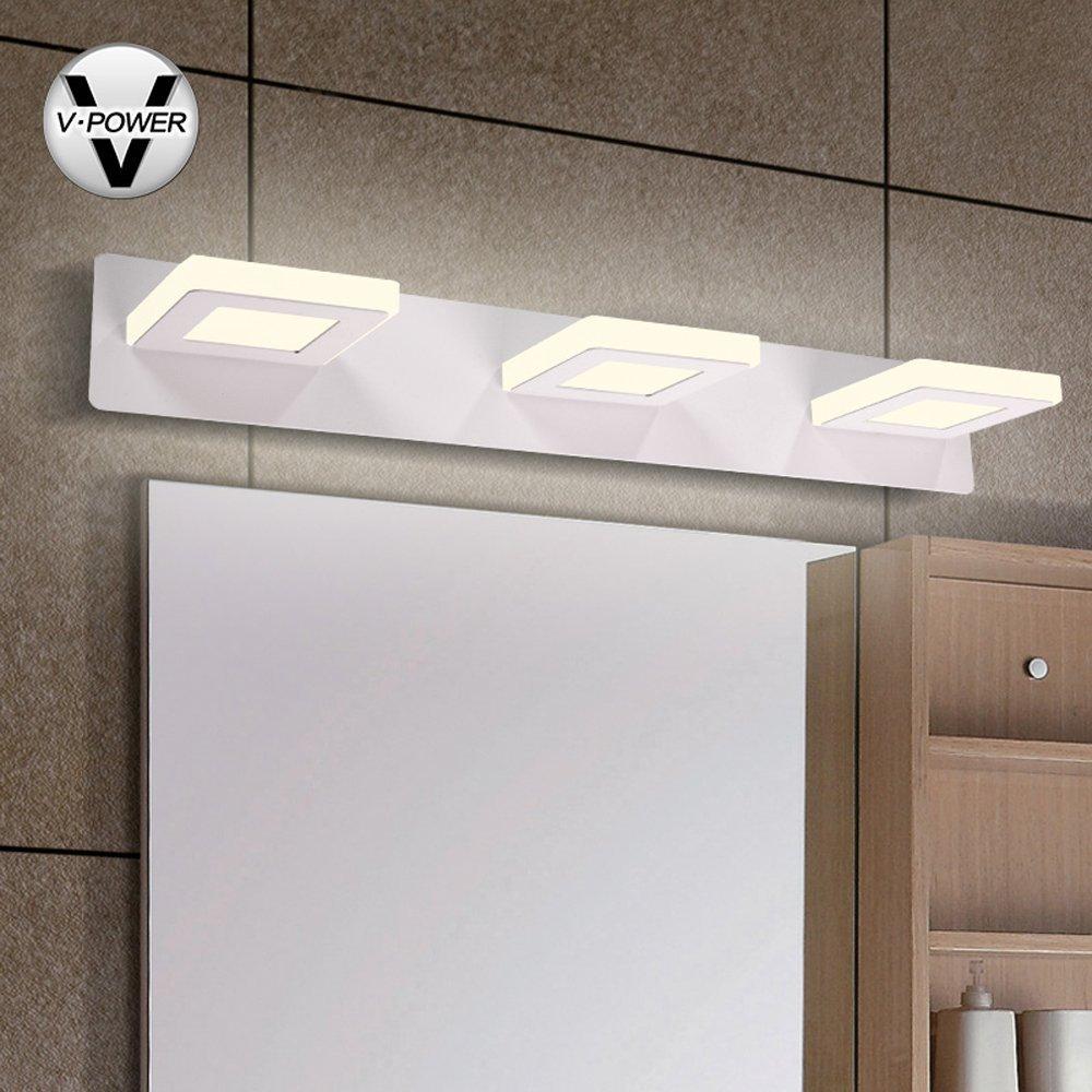V-POWER chống nước chống sương mù dẫn điều chỉnh ống kính góc hiện đại đơn giản. Phòng tắm gương (JQ