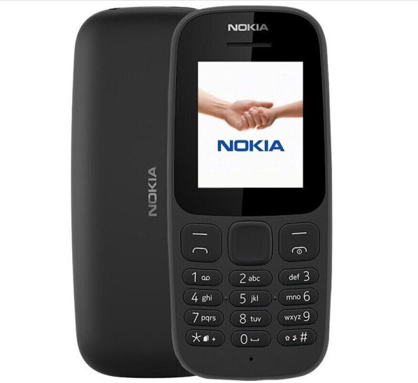 Nokia (NOKIA) 105 (TA-1010) di chuyển điện thoại 2G người già mới - đen.