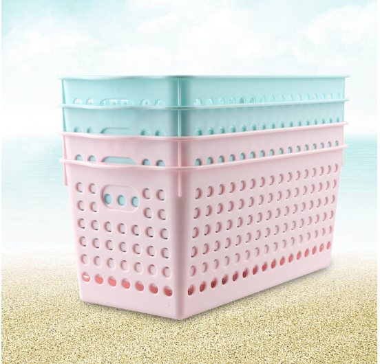 CHAHUA Trà hoa lấy giỏ hộp mỹ phẩm không xây hồ chứa vật nhà cửa dọn bếp hộp nhựa rổ Office desktop