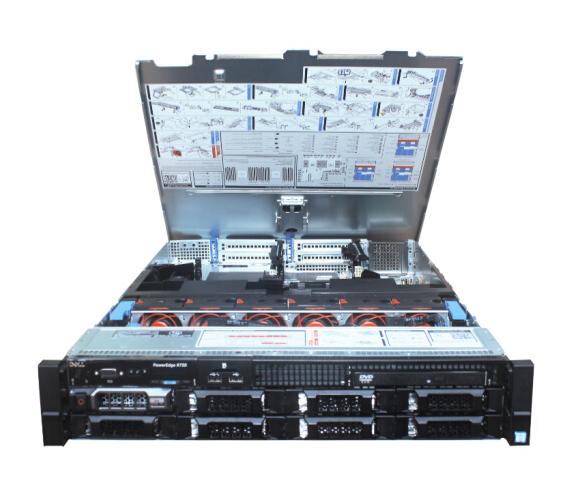 DELL Dell (DELL) R730 máy phục vụ máy 2U máy xử lý E5-2603v4+495W 8G*2 1TSAS*4 H330 E5