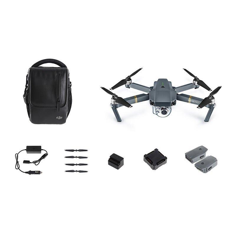 Flycam  DJI đại cương vương Mavic Pro có thể gấp 4K Aerial máy bay không người lái thiết bị máy ảnh