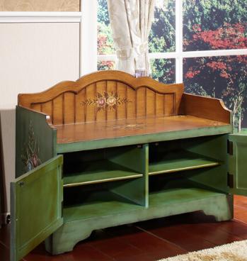 Furniture đế Gia - Americano dầu đơn giản thay đổi giày giả cổ nông thôn nông thôn làm cũ khi châu Â