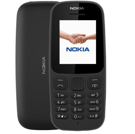 Nokia (NOKIA) di chuyển 2G già 105 chiếc điện thoại mới - đen.
