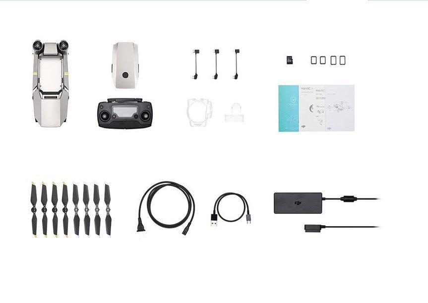 Flycam  [tiếng máy rời] DJI đại cương máy bay không người lái Mavic Pro phiên bản mini có thể mua cô