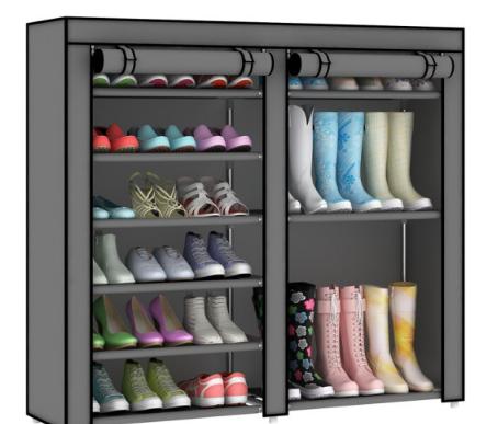 ZHIHUIDUO khôn ngoan hơn đơn giản ống thép công suất lớn chống bụi chống ẩm tủ kết hợp nhiều chức nă