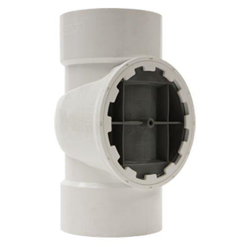 Holdrite TRPVC2A PVC DWV Test/Cleanout Tee with Plug