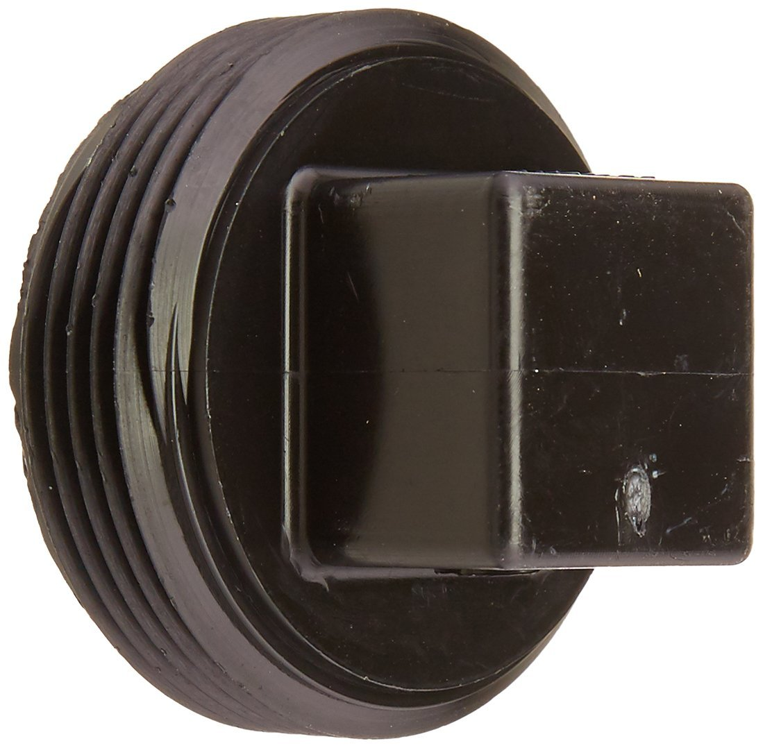 Genova Products 81815 ABS-DWV Treaded Plugs, 1-1/2
