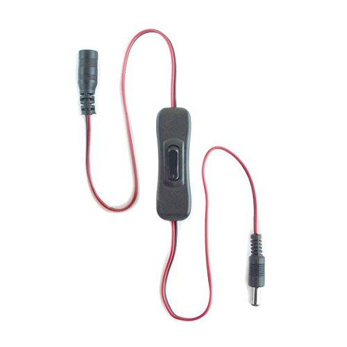 HitLights LED Light Strip 12V Inline Toggle Switch