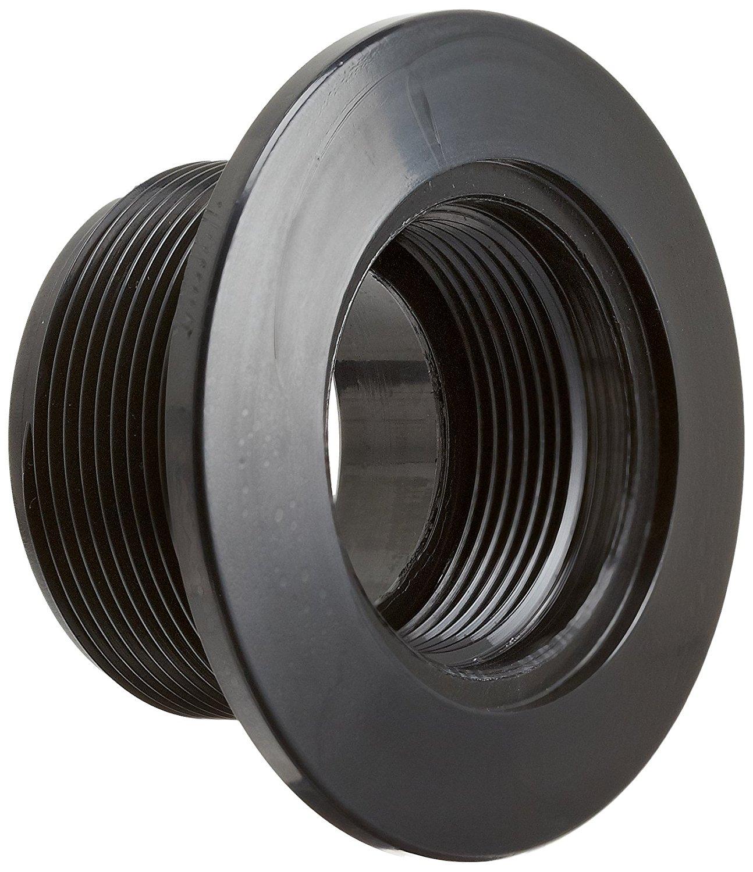 Hayward SP1022SBLK 1-1/2-Inch Socket Black Vacuum Fitting Concrete Pool Receptacle