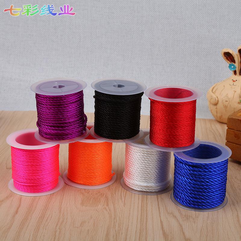 Trung quốc knot dây chuyền đồ trang sức polyester ribbon creative dệt kim Dragon Boat Lễ Hội chuẩn b