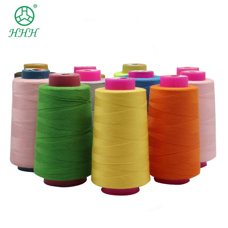 402 polyester chỉ khâu Polyester bông PP dòng ps dòng quần áo polyester sợi bông