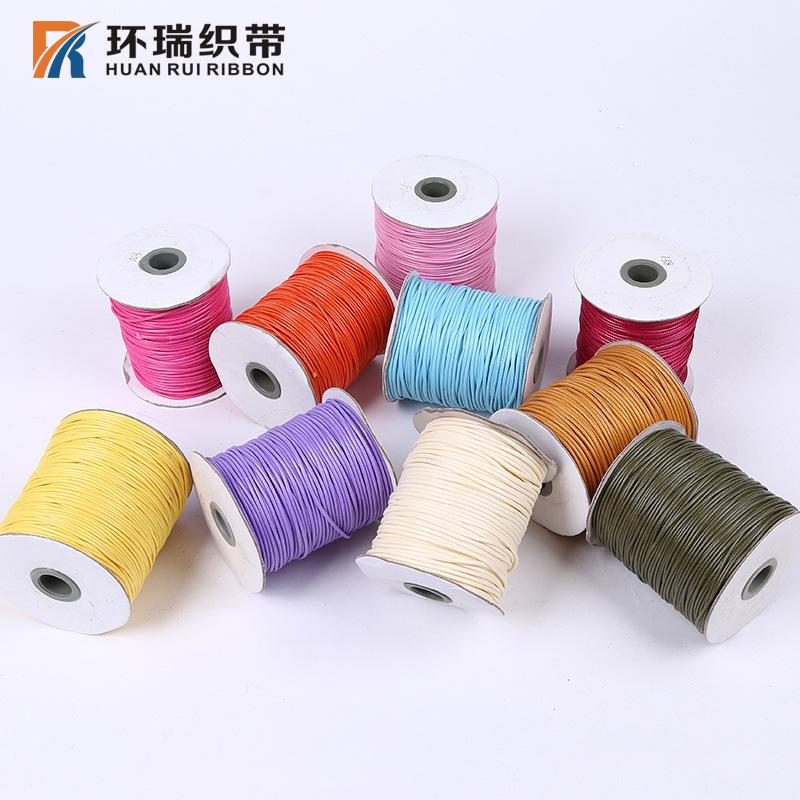 Sáp dòng nổ phần bán buôn wax rope Ribbon trang sức phụ kiện trang trí tag bao bì dây nhà máy bán hà