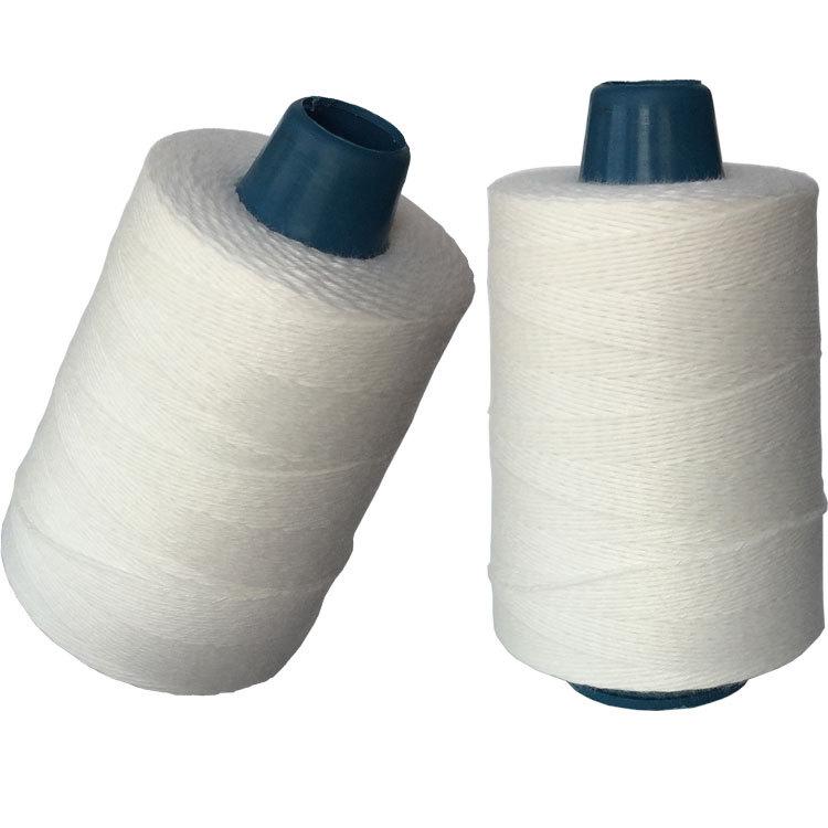 Niêm phong dòng giấy kraft dệt túi bao bì dòng để buộc thẻ máy may dòng độ bền cao polyester may chủ