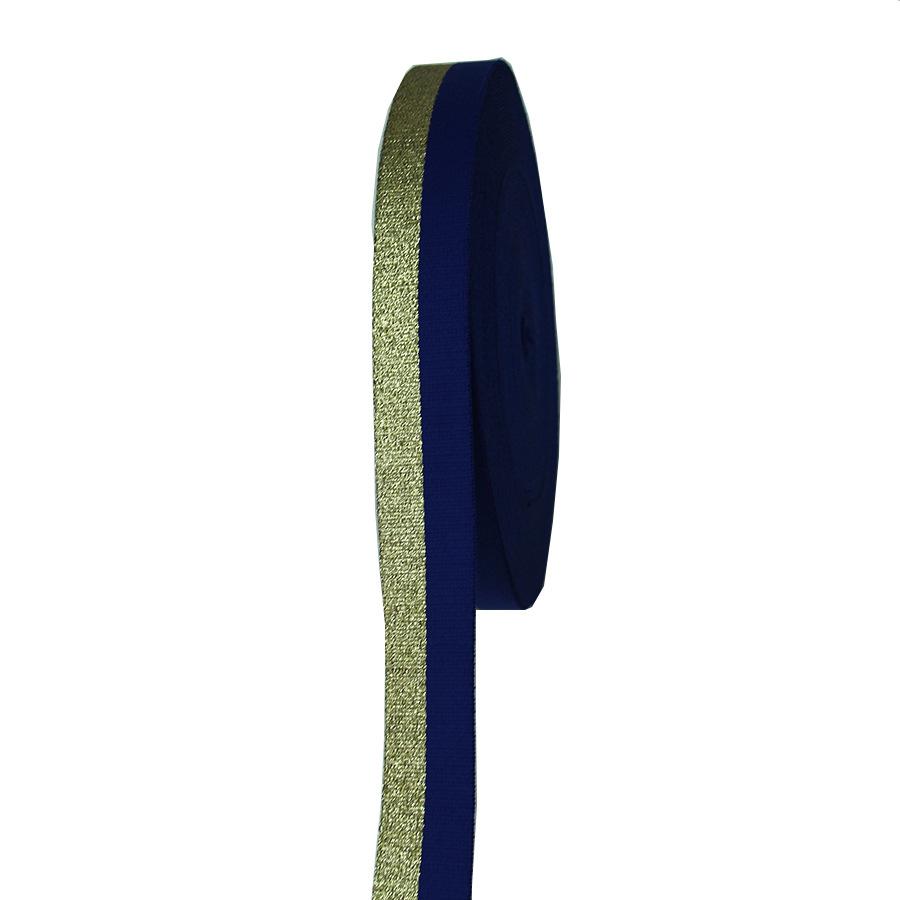40 MÉT cotton vải màu xanh vàng chủ đề phản xạ tại chỗ webbing 1.8 MÉT độ dày lực lượng đầy đủ webbi