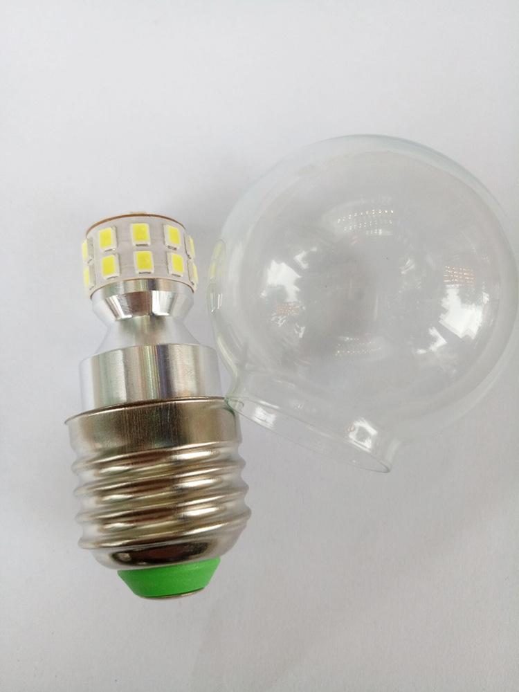 đèn E27 tiết kiệm năng lượng trong suốt