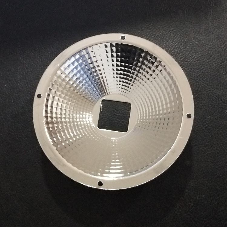 Spinning nhà máy trực tiếp LED phản xạ cup Nhôm phản xạ Cup Khác Nhau die-cast vỏ phản xạ 5 inch