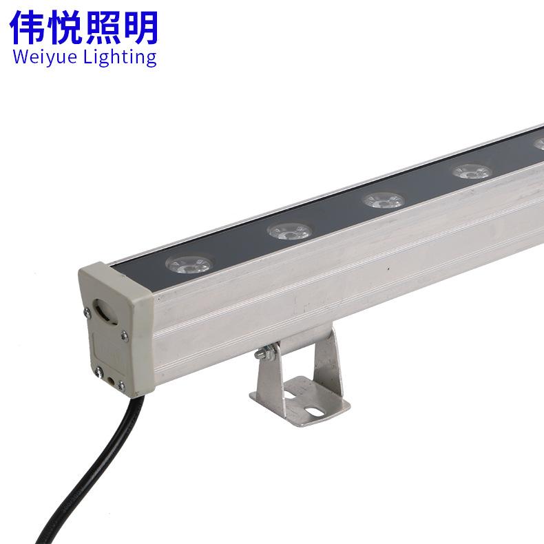 Led tường máy giặt ngoài trời chiếu sáng dòng đèn kiểm soát nội bộ 24 wát cầu đèn chiếu sáng dòng đè