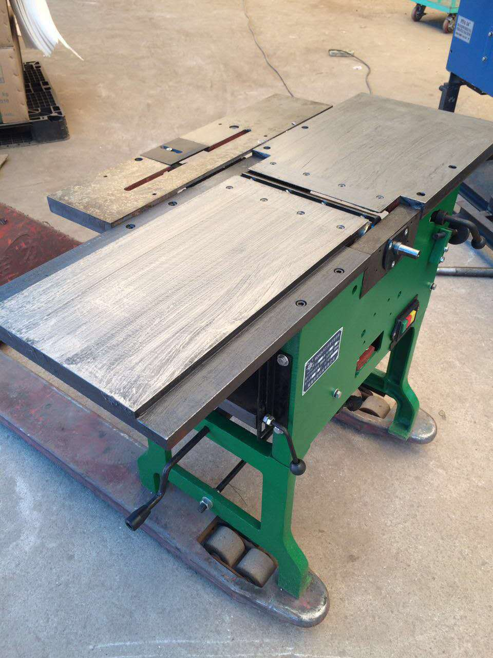 Tùy chỉnh đa mục đích phẳng planer Planer Durable new chế biến gỗ planer Phật Sơn chế biến gỗ máy mó
