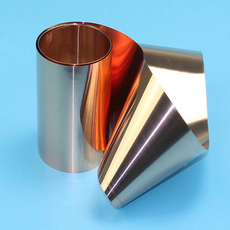 T2 red copper foil Dẫn Điện dải đồng cho biến áp / mềm C1100 copper foil strip 0.01 MÉT-1.0