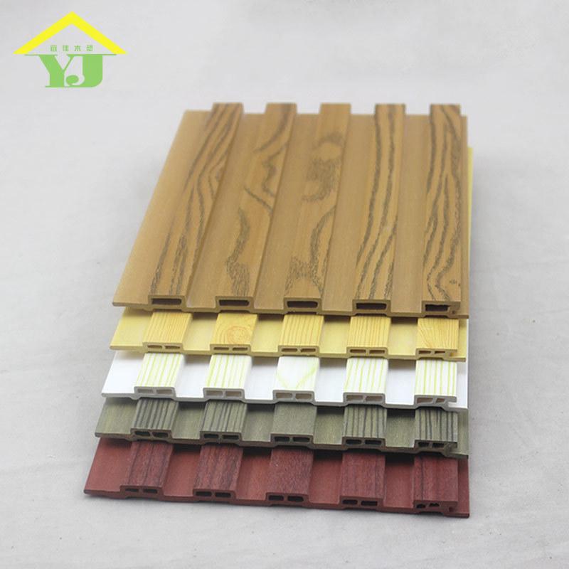 Nội thất siding tường váy nền tường trang trí gỗ Màu Xanh Lá Cây 150 nhỏ bảng tường Sinh Thái gỗ trầ