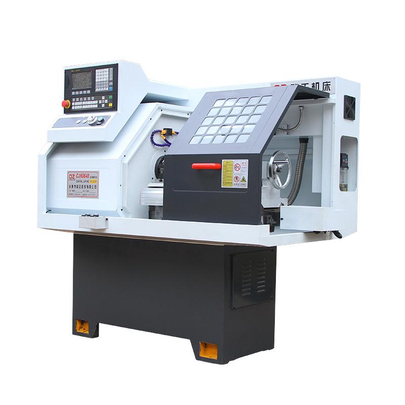CJK0640AC đường sắt cứng với tailstock micro CNC máy công cụ cho ăn tự động lathe một năm bảo hành