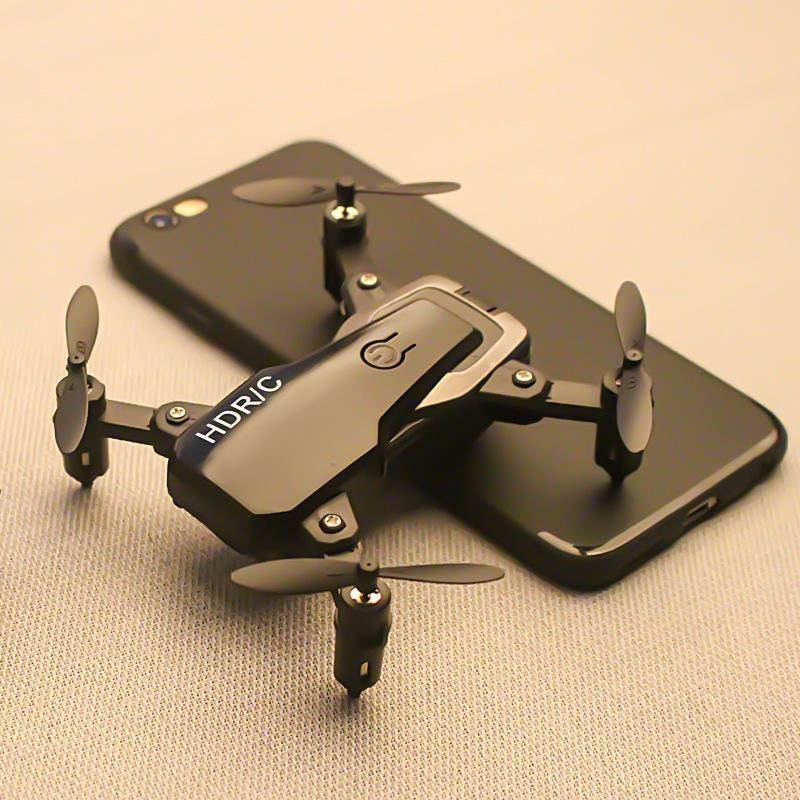 Cross-biên giới D2 mini folding drone điều khiển từ xa máy bay định vị trên không cố định trục bốn t