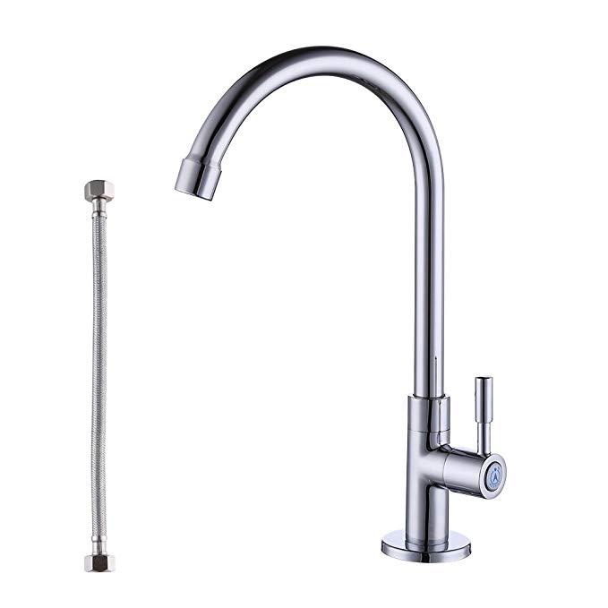 KES vòi bếp đơn lạnh chì miễn phí brass chìm chậu vòi nước lạnh chì miễn phí vòi