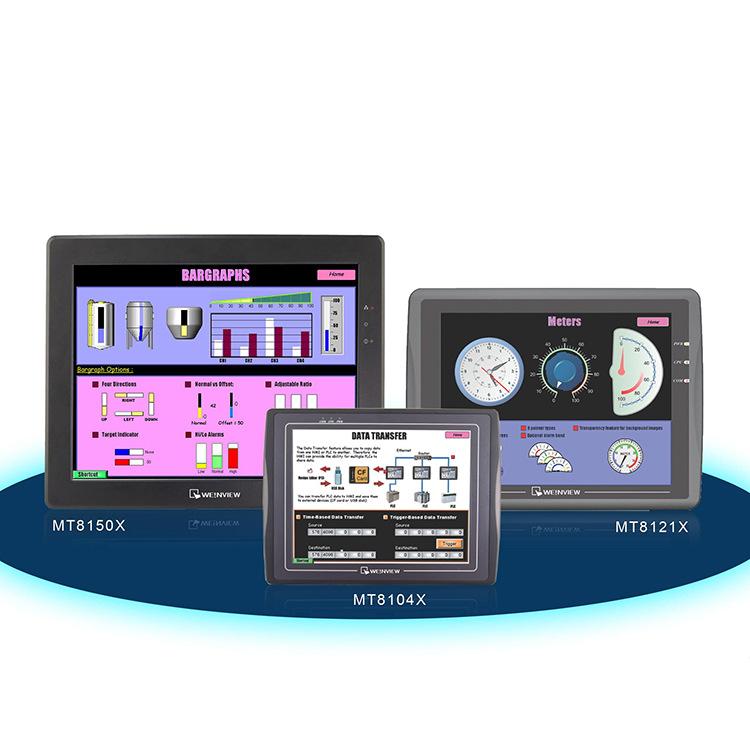Hà nam Trịnh Châu Weilun màn hình cảm ứng Weiluntong 7 inch 10 inch giao diện người-máy MT6103IP