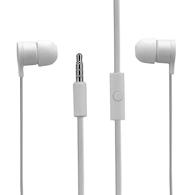HTC Tangle Tai nghe có dây miễn phí Tai nghe Stereo từ xa có dây từ xa - Trắng