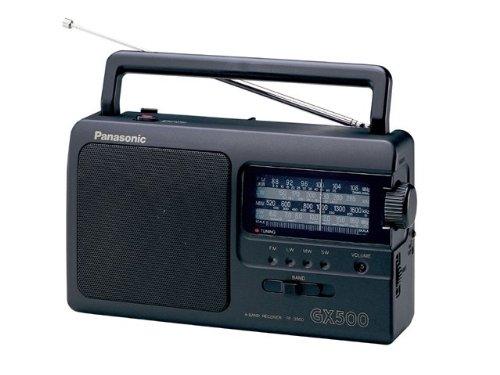 Đài phát thanh di động Panasonic RF-3500E9-K (bộ chỉnh tín hiệu tương tự (FM / MW / LW / SW)