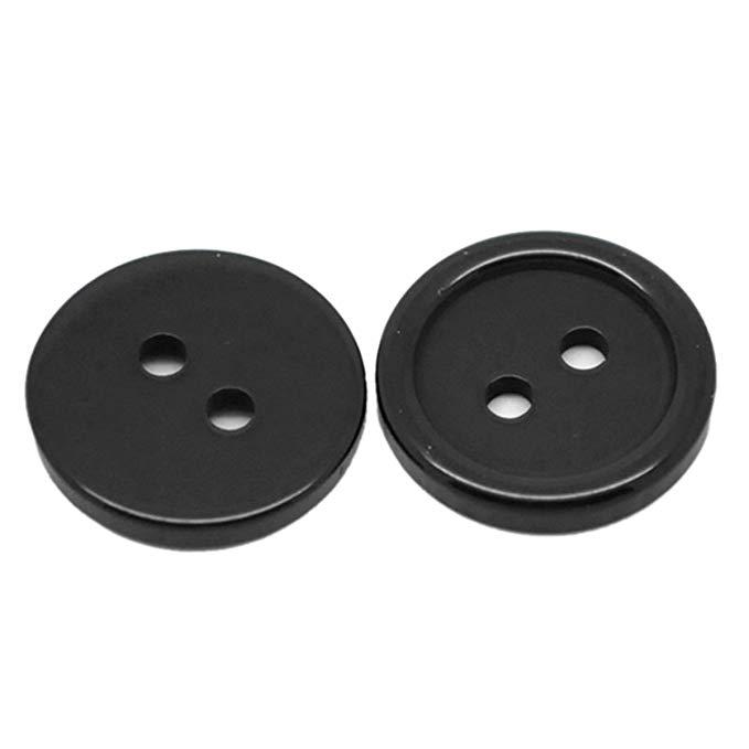 Housweety 200 vòng 2 lỗ nhựa may buttons scrapbook 15 mét (5/8