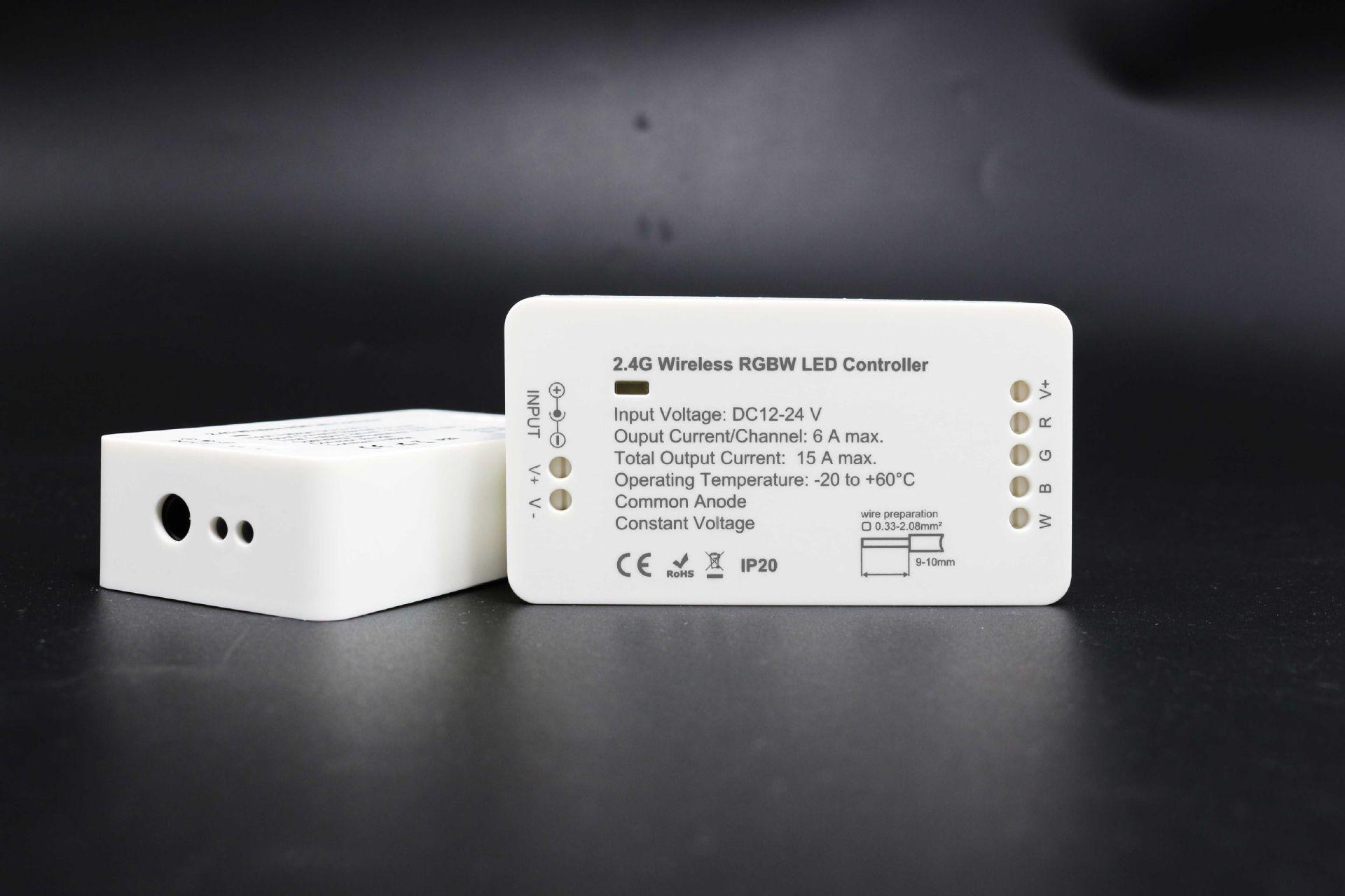 2.4G dẫn ánh sáng với bộ điều khiển wifi táo android kiểm soát ánh sáng với bộ lọc màu kết nối
