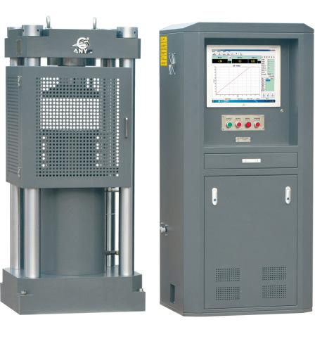 Máy kiểm tra áp suất servo điện-thủy lực được điều khiển bằng máy tính