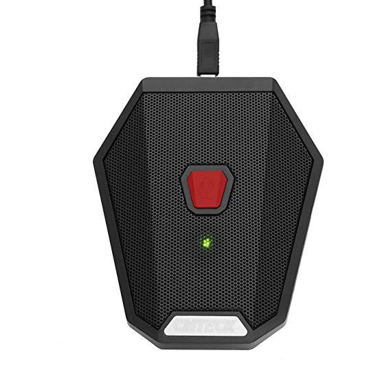 Cmteck USB máy tính để bàn microphone cm005r, chức năng tắt tiếng, microphone máy tính đa hướng cho
