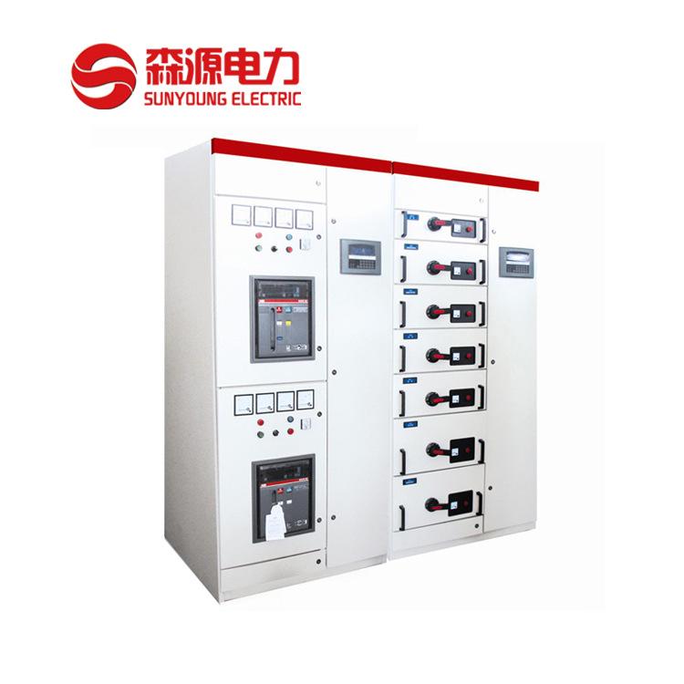Nhà máy trực tiếp GCS rút được điện áp thấp thiết bị chuyển mạch / tủ bù / tủ phân phối điện