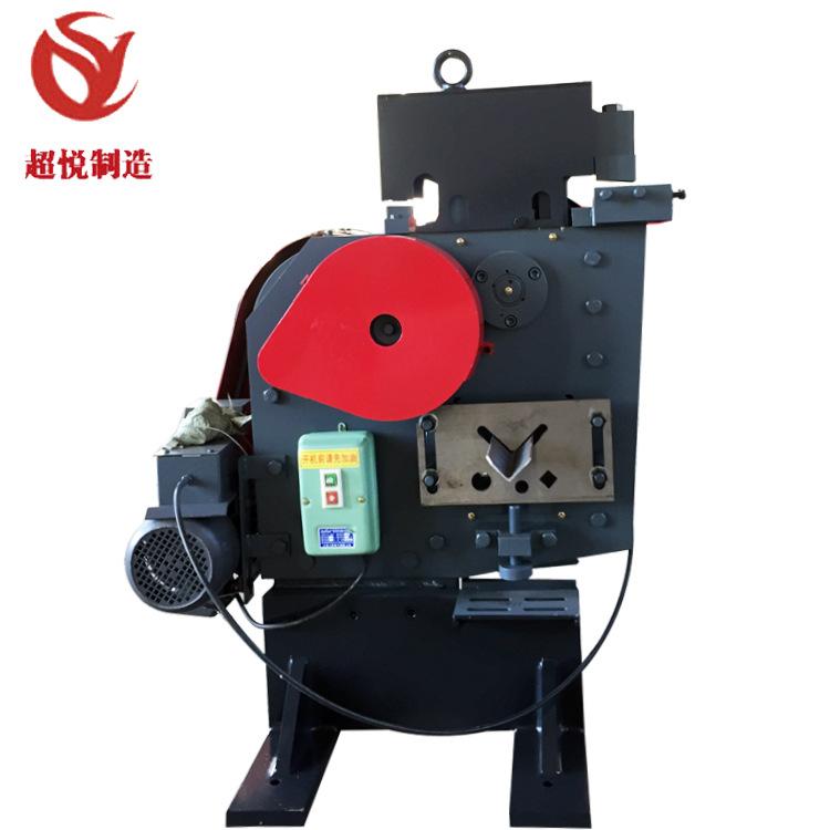 Kết cấu thép 63 góc sắt máy cắt Đa Chức Năng doanh đấm và máy cắt Nhỏ cơ khí thép góc thép máy cắt