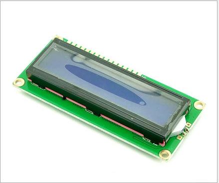 Màn hình màu xanh 1602A màn hình màu xanh màn hình LCD màu xanh 5 V font chữ màu trắng với đèn nền L