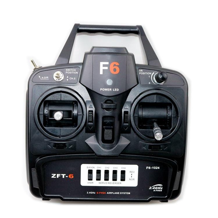 F6 2.4 Gam vượt qua không dây điều khiển từ xa / RC máy bay máy bay không người lái Su su27 simulato